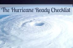 Are you hurricane ready?  The Atlantic hurricane season is June 1st to November 30th. | Backdoor Survival