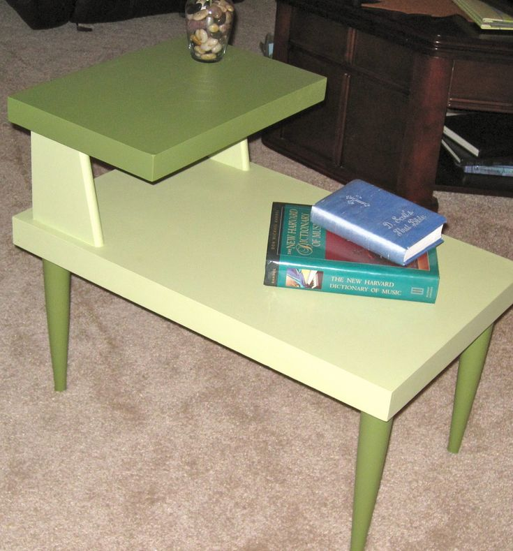 Magi:: From Trash To Treasure Tutorial: Mid Century Modern End Table