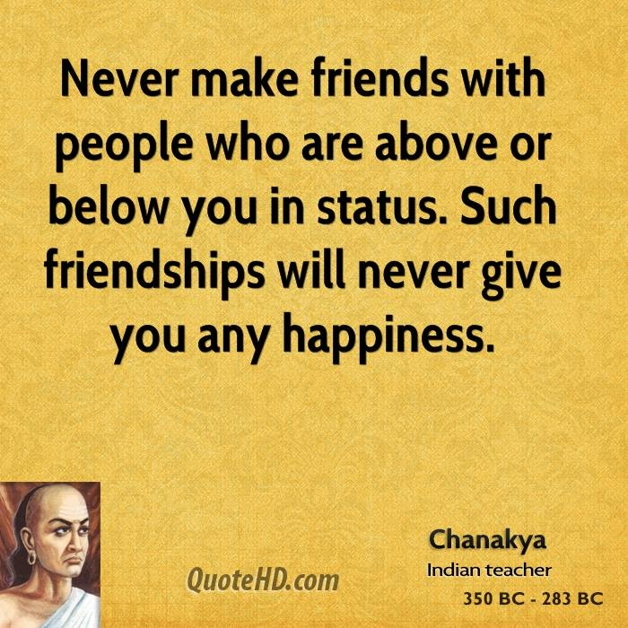 Always found good reasoning in Chanakya's words! It is what makes him a good leader in being able to figure out the real intentions of any individual, and act accordingly.