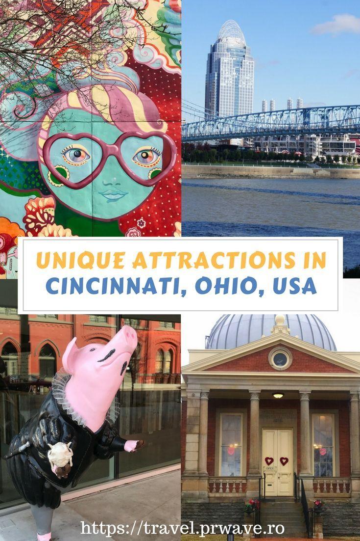 Unique attractions in Cincinnati, Ohio, USA recommended by a travel blogger, #USA, #Cincinnati, Quirky #attractions in Cincinnati, Unique things to see in Cincinnati, USA, #Ohio travel, #travel #curiosities