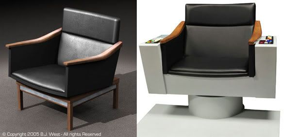 Captain Kirk Chair Plans   Google Search | Captainu0027s Chair | Pinterest |  Trek And Star Trek
