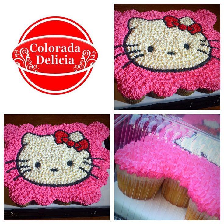 PASTEL CUPCAKES DE HELLO KITTY, sorprende a la princesa de la casa con este bello y delicioso detalle. #cupcake #hellokitty #kitty #cake #pastel #postre #hechoamano #beauty #beautiful #familia #family #life #Mexico #CDMX #decorationcake #love #vanilla #vainilla #repost #pasteleriacreativa #sweet #betun #buttercream #pink #candy #food #foodie #foodporn  #gourmand #gourmet #yummy #tasty #dessert #me