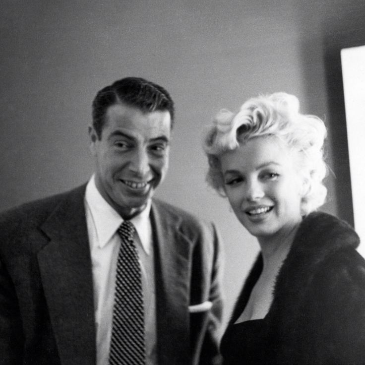 146 best images about Marilyn & 2nd husband - Joe DiMaggio ...