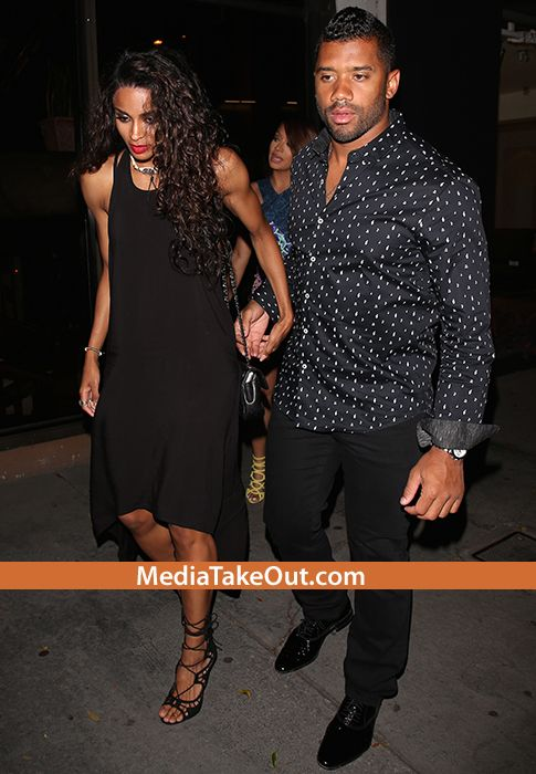 TRIPLE DATE: BEST BUDDIES Kelly Rowland, LaLa, And Ciara All Went To DINNER . . . And They Brought Their SEXY HUSBANDS AND BOYFRIEND WITH THEM!!!