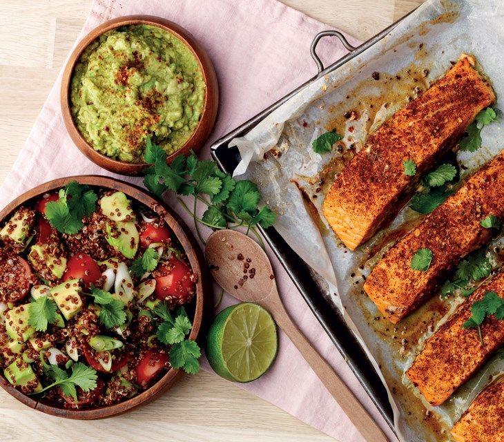 Peruansk lax med quinoa