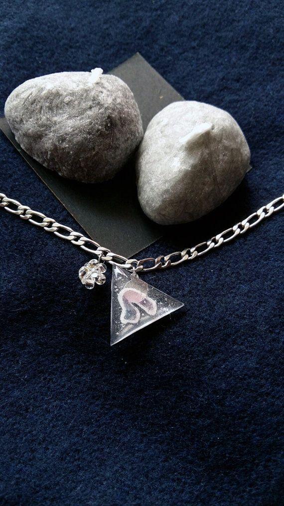 Sweet triangle choker by Mirage by Heila G https://www.etsy.com/listing/467648934/sweet-triangle-bracelet