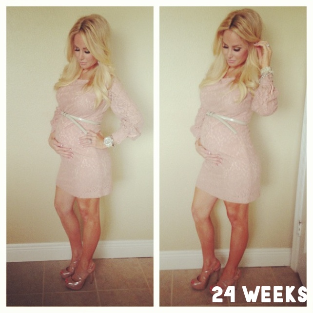 24 weeks pregnant | Little Miracles | Pinterest | All ...