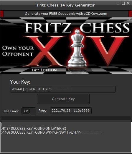 New Fritz Chess 14 CD-Key Generator download undetected.File updated hack 2016.No survey download hack,download crack for Fritz Chess 14 CD-Key Generator .Free database of hacks,cracks,injectors,keygens.Download hacks,download cracks..