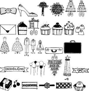 Wedding Doodles font