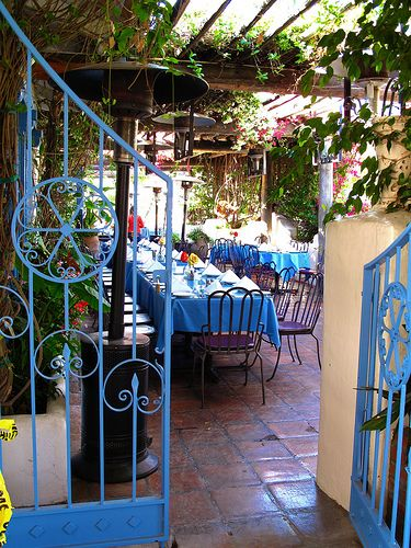 """I know spring is here when it's warm enough to have dinner on the patio at Taverna Tony's in Malibu!""—Rachel Zoe"