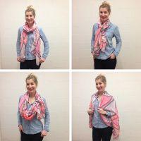 6 verrassende manieren om je sjaal te knopen - Mode - Flair