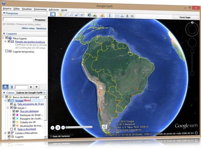 Google Earth download - Baixaki