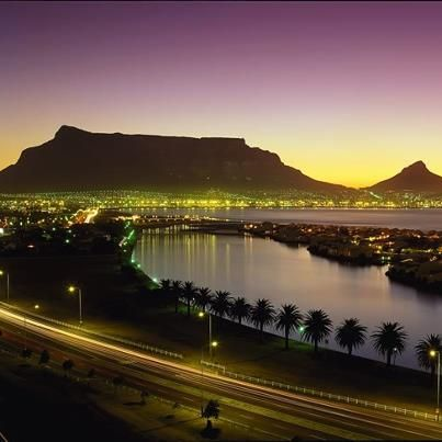 Beautiful Table Mountain. Cape Town
