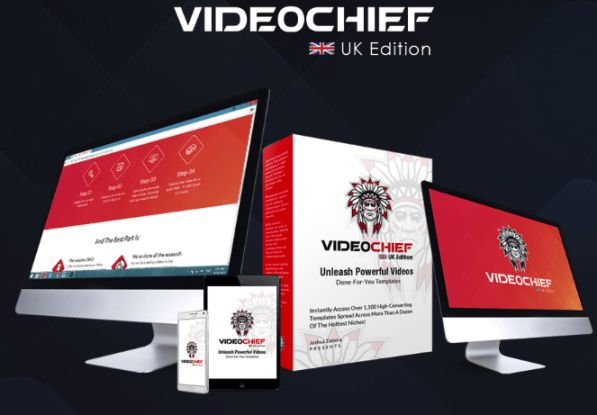 Videochief UK Edition By Joshua Zamora is best package done for you new membership site that helps you to get access pre-made videos in the niches, voiceover templates, script templates, over 75 uk edition white-background & green-screen video templates and get over 150+ uk accent videos in over a dozen niches plus the other 1,200 video marketing templates  #videochief #videochiefuk #videomarketing #videogreen #digitalmarketing #contentmarketing #videocreator
