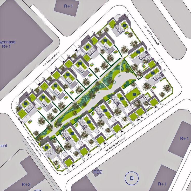 16 Maisons Locatives Qe Et Passif Quartier Des Merlattes | atelierphilippemadec