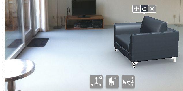 3D woonkamer of slaapkamer inrichten - online roomplanner - ideeënboeken