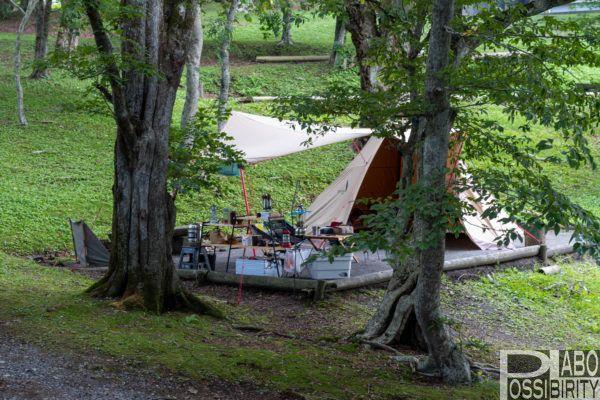 判官館森林公園キャンプ場は焚火ok サイト選びのポイントもまとめました Possibility Laboポジラボ キャンプ場 アウトドア 北海道 キャンプ