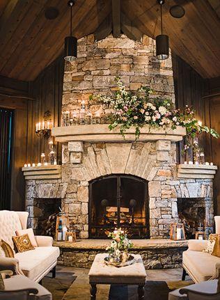 Свадьба в деталях: уютный камин - The-wedding.ru