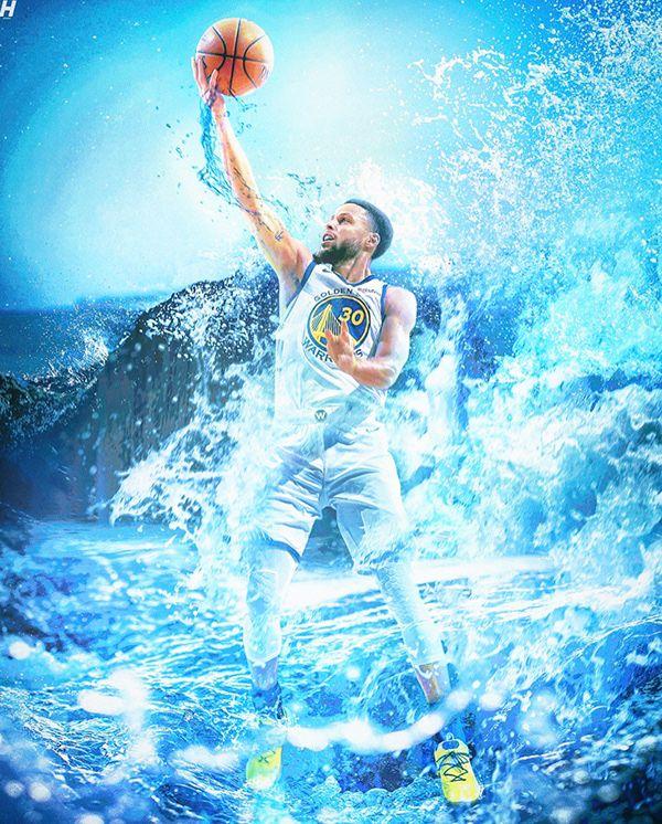 Stephen Curry Splash Manipulation On Behance Stephen Curry Stephen Curry Wallpaper Nba Stephen Curry