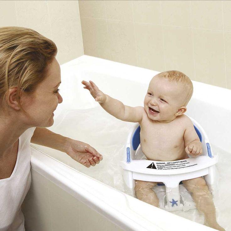 Dreambaby Deluxe Bath Seat with Heat Sensor | JoJo Maman Bebe