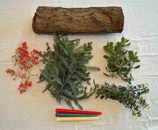 Christmas+Yule+Log+DIY+Tutorial