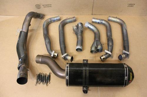 Honda CBR 1000RR 1000 RR Full EVO Akrapovic Exhaust Carbon ...