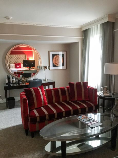 The Omni King Edward Hotel is located on an entire block that is bounded by King Street, Victoria Street, Colborne Street and Leader Lane ...