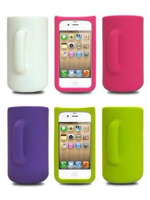 There's the one in purple now that my mom doesn't have an iphone.....green(: