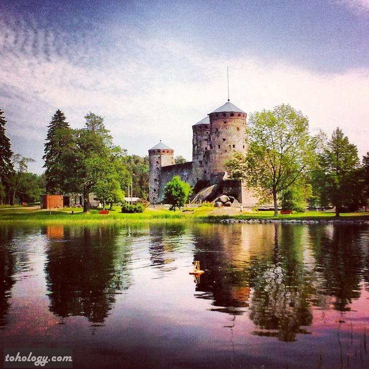 Olavinlinna Castle (Savonlinna, Finland)