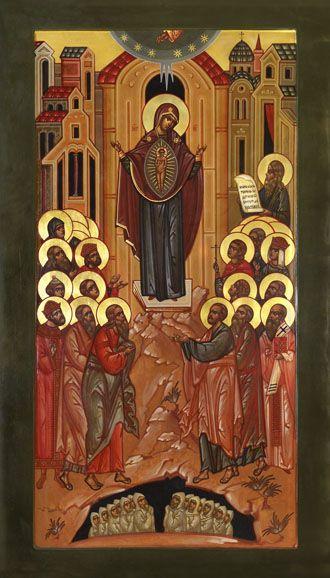 0441 Икона Божией Матери Непроходимая дверь