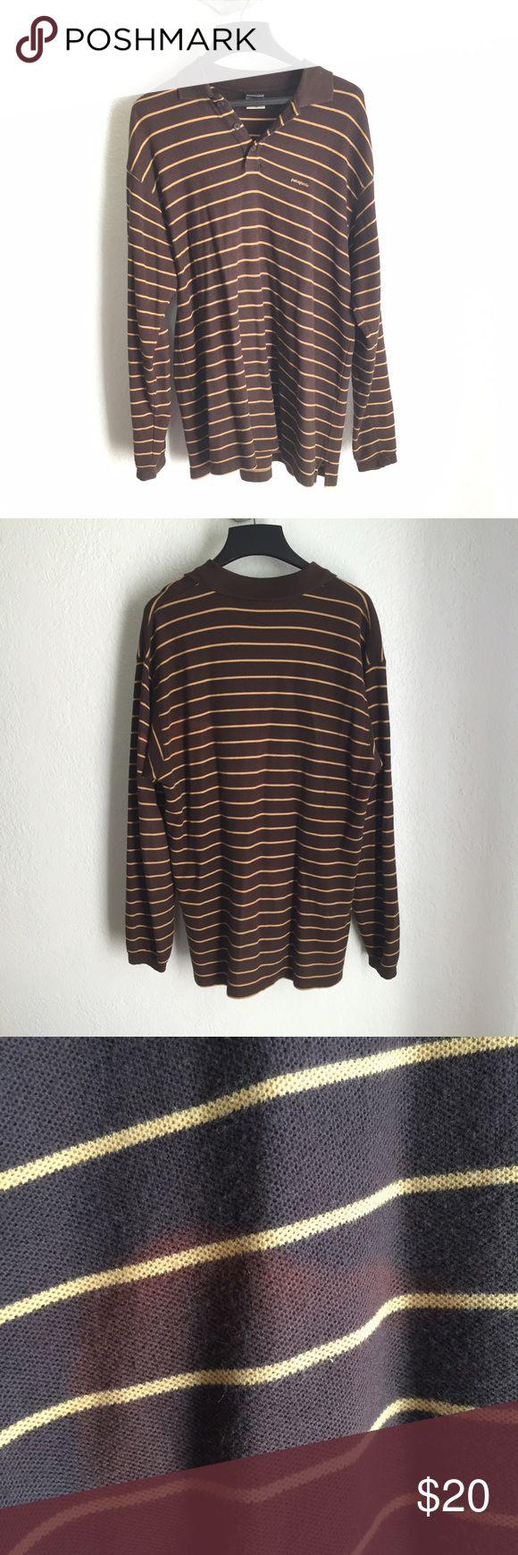 Men's Longsleeve Patagonia shirt Size medium couple marks as shown in photo Patagonia Tops Tees - Long Sleeve