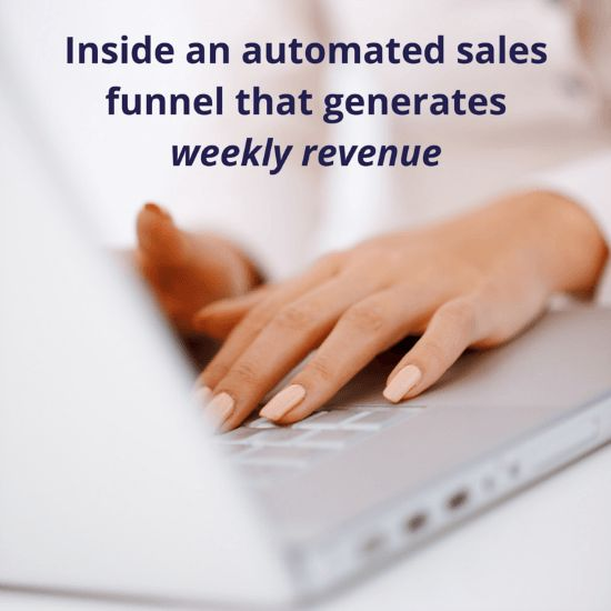 Inside an automated sales funnel | Kellie O'Brien Media