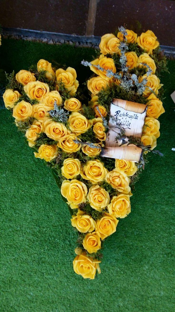 Isän sydän <3 Kukka ja Sidonta Villi-Ruusu Savonlinna