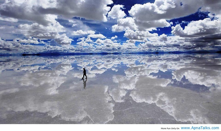 Amazing World's Largest Salt Flat