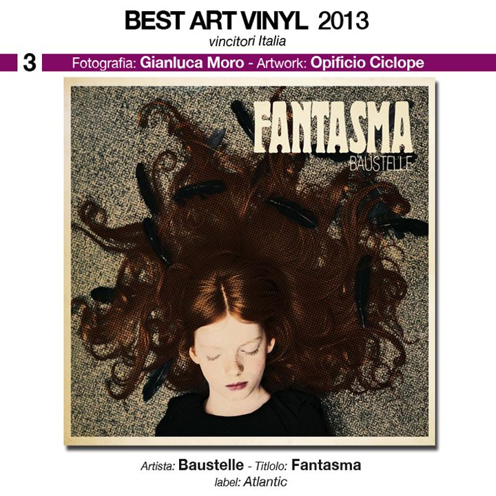 "ITALIA - 3° classificato - fotografia Gianluca Moro  artwork Opificio Ciclope album: Baustelle ""Fantasma"" label: Atlantic"