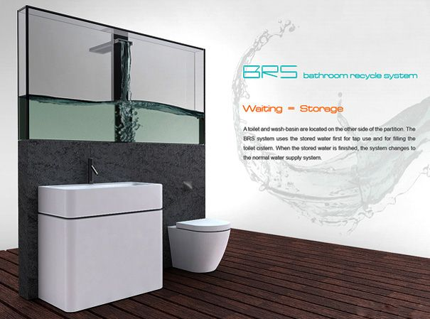 Bathroom Recycle SystemBathroom Design, Water Saving, Bathroom Interiors, Brs Shower, Shower System, Bathroom Sinks, Bathroom Ideas, Smart Ideas, Toilets Sets