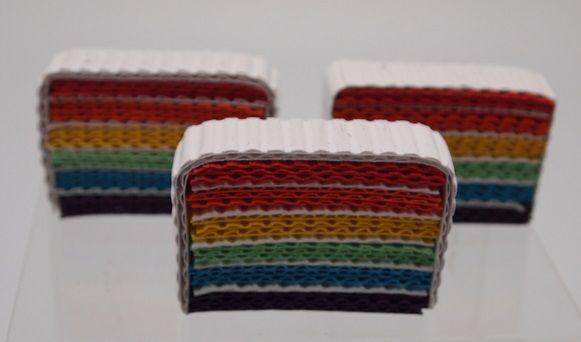 Rainbow cake, made from Kokoru Ichi & Ichigo