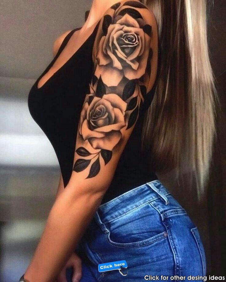 400 Sleeve Tattoos For Women Best Sleeve Tattoos Designs Tattoos Girl Tattoos Rose Tattoos
