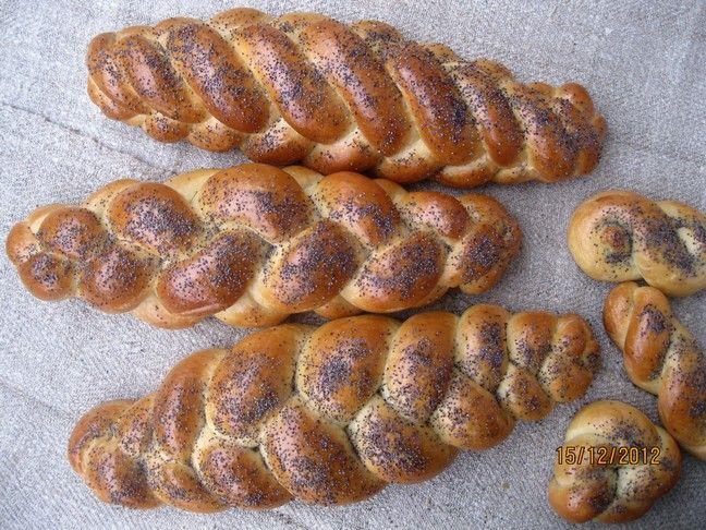 """Рецепт этой халы из книги Мэгги Глезер """"Благословенный хлеб"""" нашла у Люды, mariana_aga. Хала очень вкусная, не слишком сладкая, но с очень большим количеством…"""