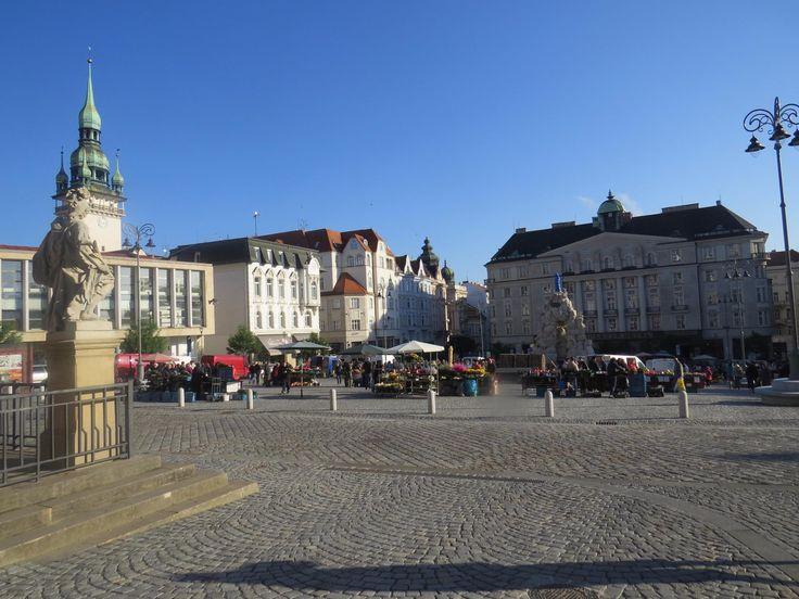 Zelny trh (farmers market) - Brno, Czech Republic