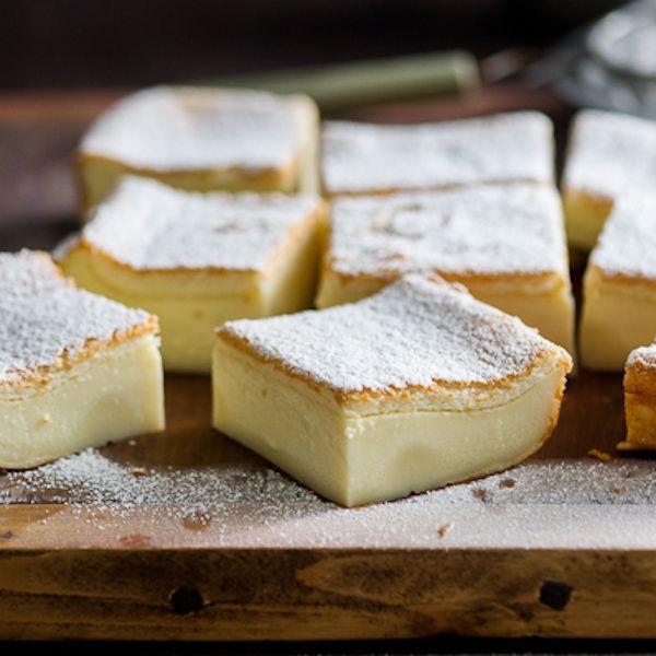 Magic Custard Cake Recipe