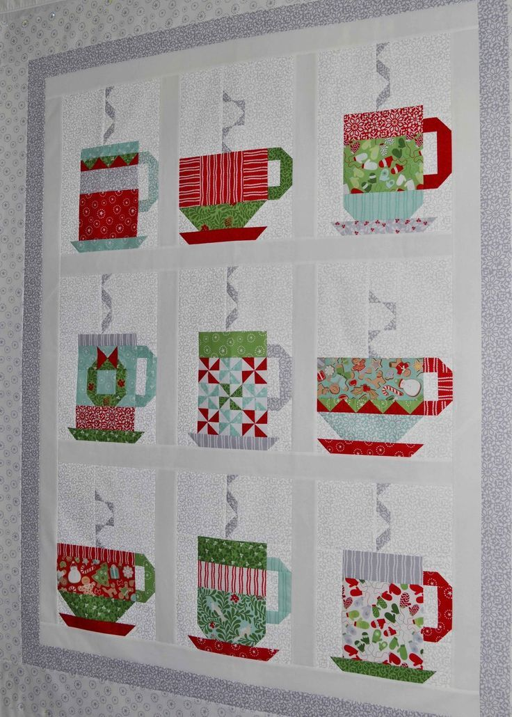 Hot Chocolate quilt by Grey Dogwood Studio. Pattern and fabric by Kate Spain.