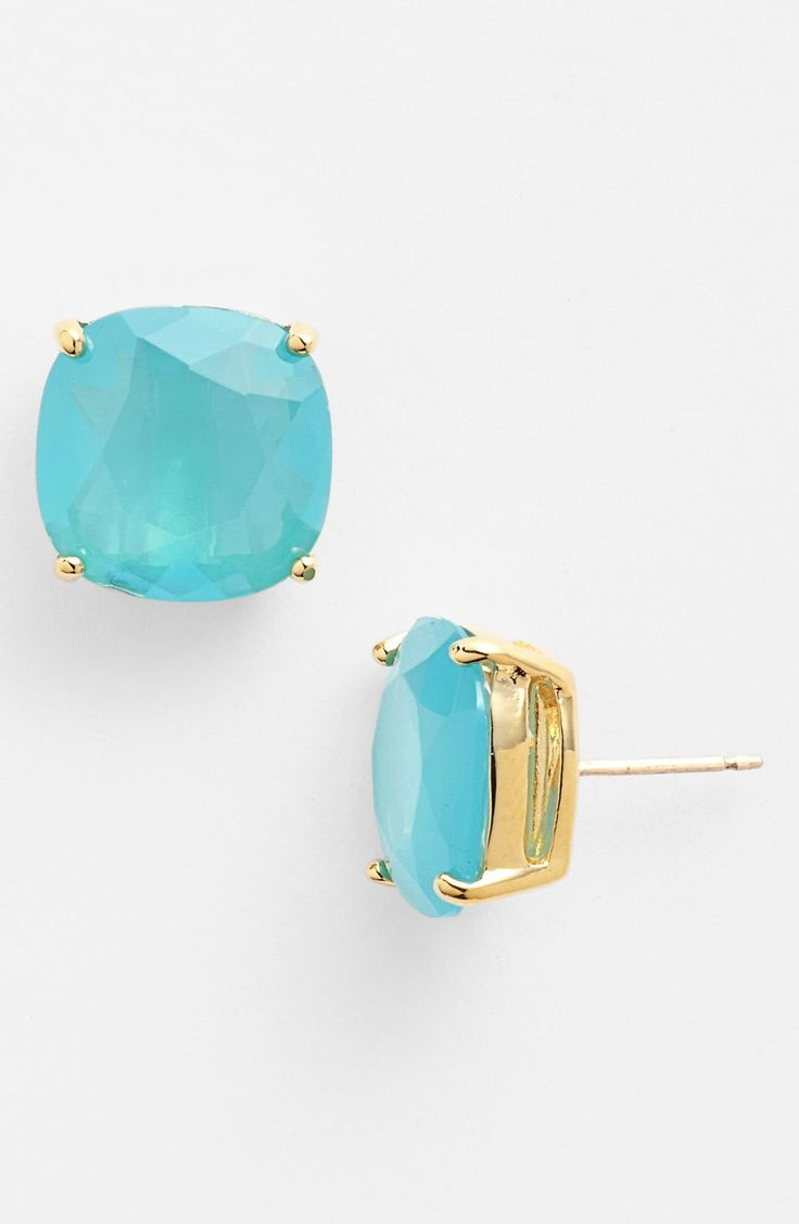 Want these Kate Spade stud earrings in every color!