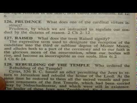 Masonic Bible - exposing the lie that freemasonry is Christian