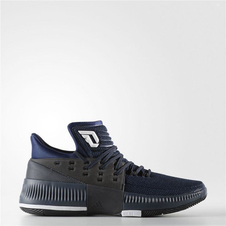 Adidas Dame 3 By Any Means Shoes (Mystery Blue / Black / Running White)