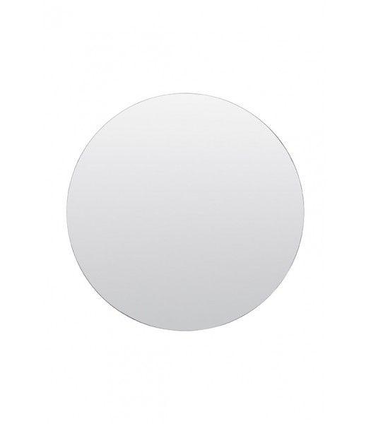 HOUSE DOCTOR RUND SPEGEL WALLS KLAR 110 CMStilren rund spegel i klarglas, i minimalistisk design från danska House doctor .Mått : 110 cm diameterMaterial: Metall och glas