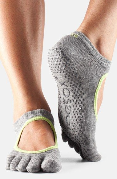 For Pilates?? ToeSox 'Bella' Full Toe Gripper Socks available at #Nordstrom