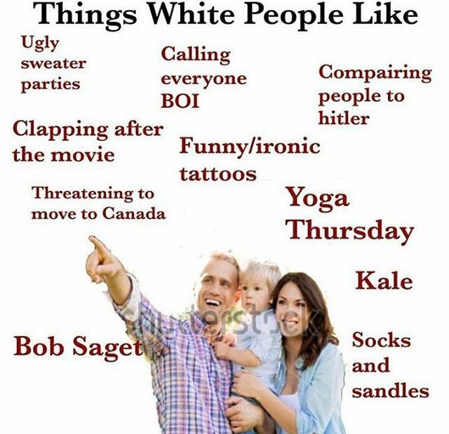Dang it that's totally me  But don't get me wrong I love fried chicken trap music and other stereotypical things black people like