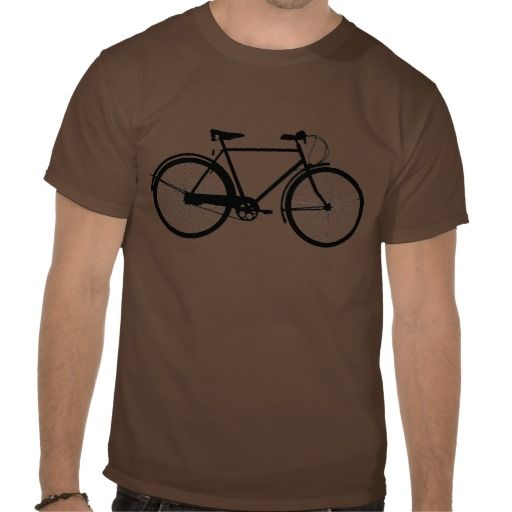 Bike silhouette tee shirt