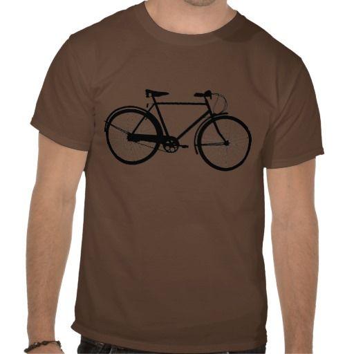 Bike silhouette tee shirt